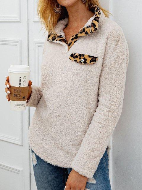 Shirt Collar Cotton-Blend Shirts & Tops