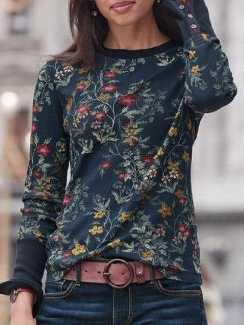 Black Long Sleeve Casual Shirts & Tops
