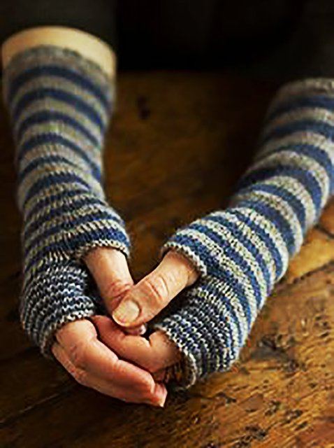 Knitted Simple & Basic Gloves & Mittens