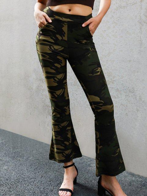 Camouflage Shift Sports Pants