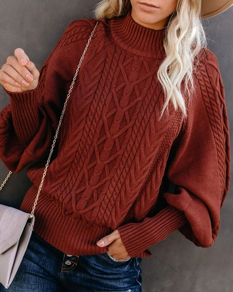 Casual Cotton Sweater