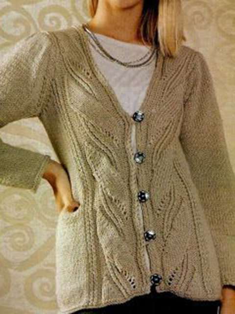 Long Sleeve Holiday Knitted Cotton Sweater