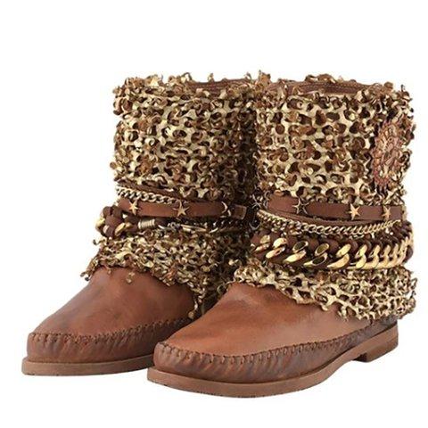 Women Winter Low Heel Boots