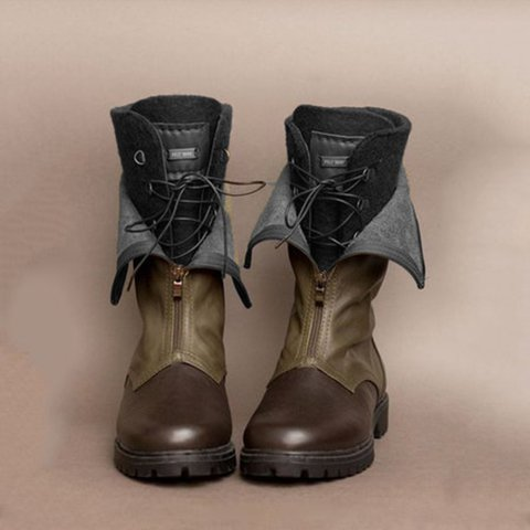 Boots With Lace Up