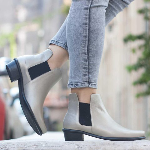 Women Solid Pu Casual Fall Boots