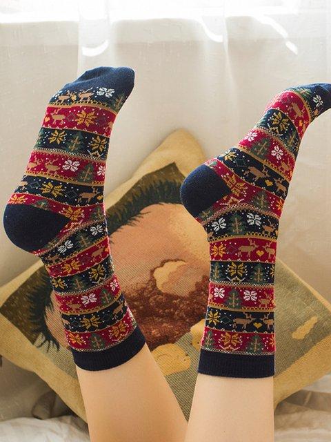 X'mas Warm Tribal Socks