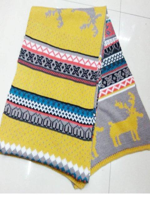 Vintage Jacquard Scarves & Shawls