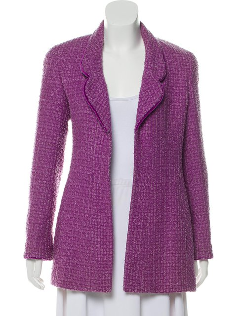 Work Solid Blazer Plus Size Shawl Collar Jacket