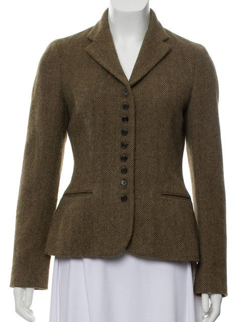Solid Work Blazer Plus Size Buttoned Shawl Collar Jacket