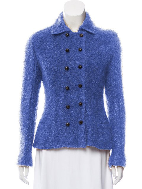 Solid Buttoned Jacket Plus Size Pockets Shawl Collar Coat