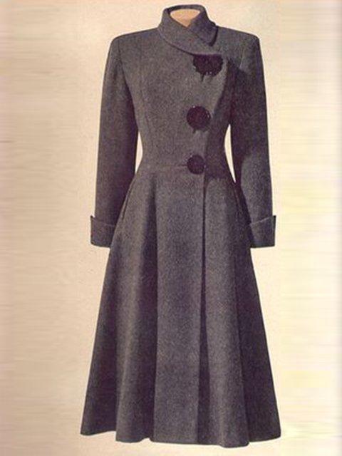 Vintage Wool Blend Outerwear