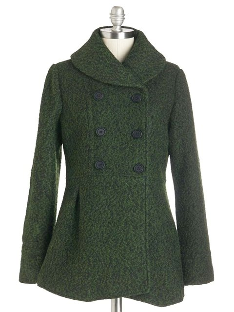 Plain Knitted Vintage Outerwear