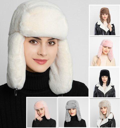 Faux Fur Casual Warm Hats