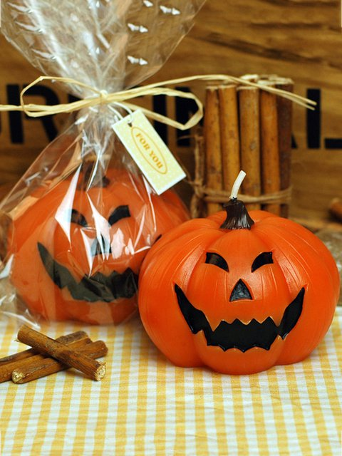 Halloween Party Art Candle Holiday Supplies