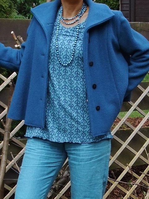 Solid Sweatshirt Coat Women Plus Size Jacket