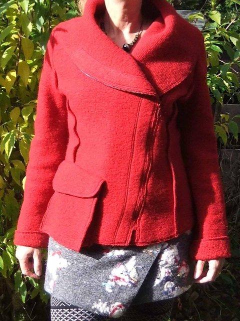Pockets Solid Jacket Plus Size Coat