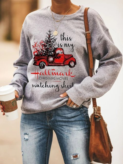 Cotton Long Sleeve Sweatshirt