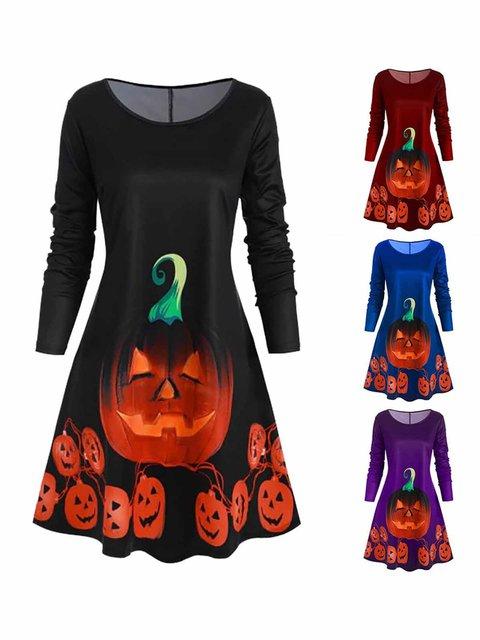 Women Dresses Daily Geometric Dresses