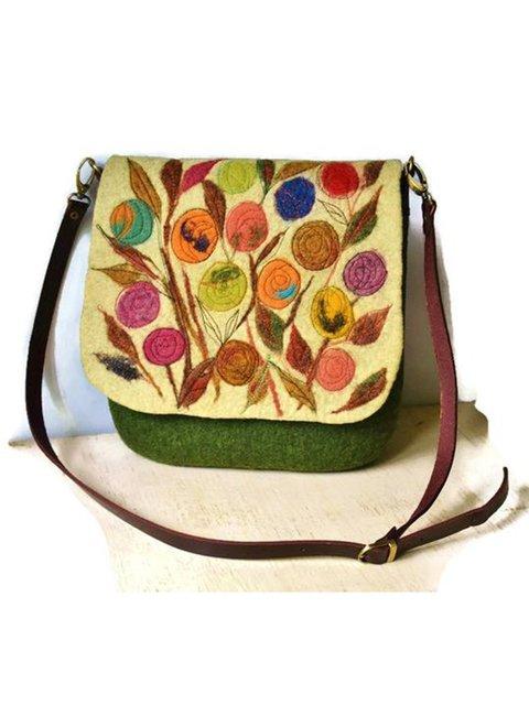 Fashion  Green Casual Shoulder Bags