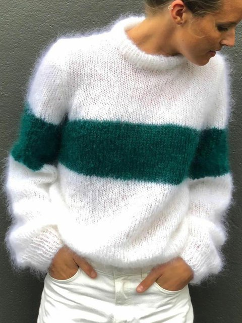 Solid Turtle Neck Sweater Women Plus Size Jumper