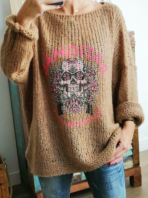 Boho Sweater Women Plus Size Jumper