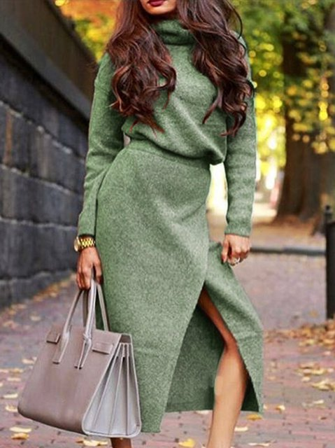 Long Sleeve Crew Neck Suits