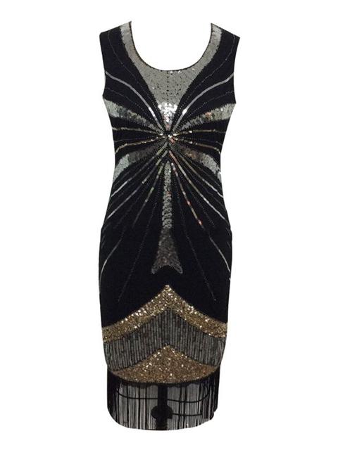 Crew Neck Black Women Dresses Party & Evening Cocktail Dresses