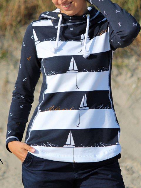 Shift Casual Cotton-Blend Sweatshirt