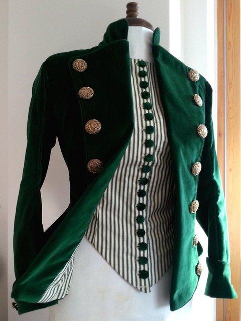 Velvet Vintage Long Sleeve Outerwear