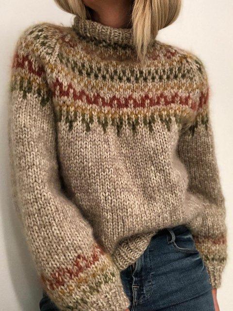 Turtle Neck Sweater Plus Size Jumper