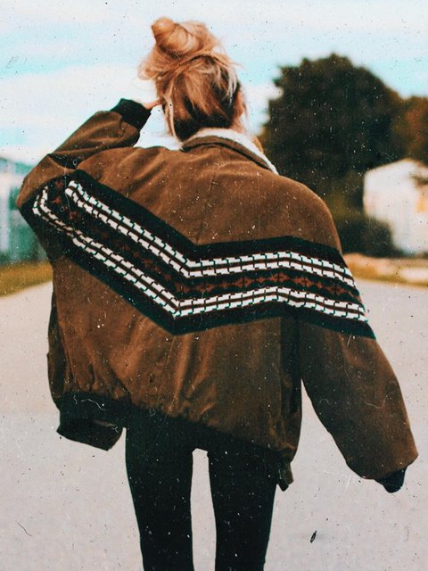 Shift Vintage Striped Outerwear