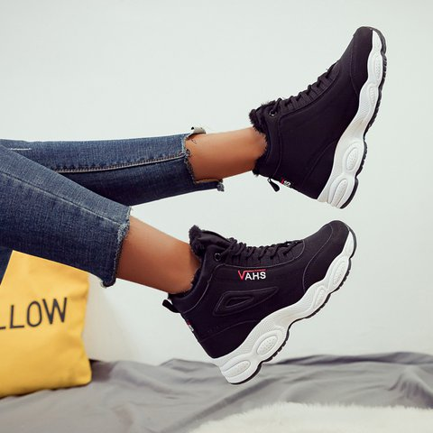 Women's Lace-Up Autumn/Winter Sneakers
