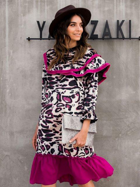 Color-Block Velvet Dresses