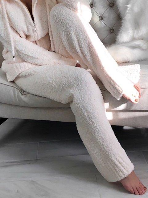 Fluffy Warm Plus Size Pants