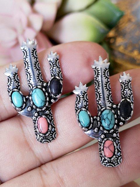 Vintage Cactus Earring