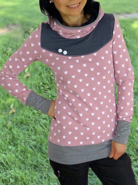 Casual Printed Sweatshirt