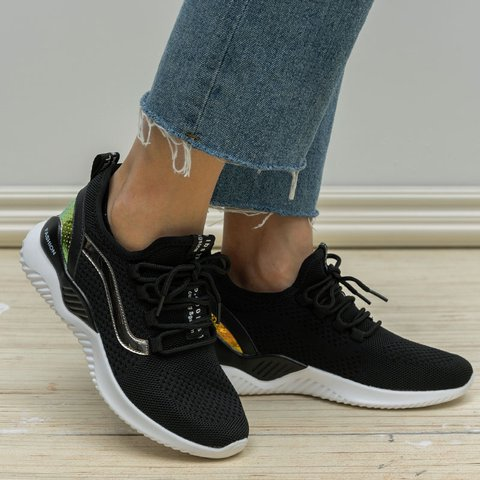Outdoor Casual Lace Up Trainers Flat Heel Sneakers