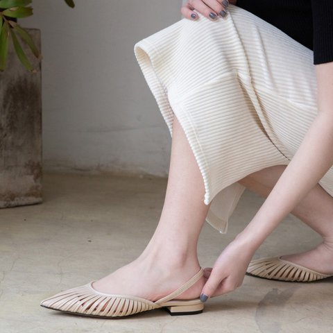 Women's Low Heel Hollow-Out Sandals