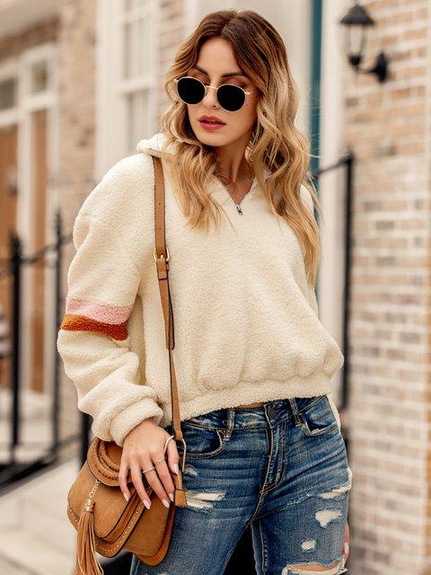 Women Zipper Long Sleeve Vintage Outerwear