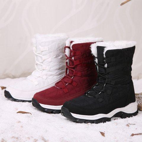 Flat Heel Split Joint Fall Artificial Suede Boots