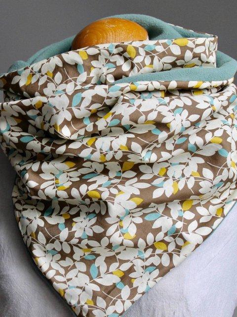 Multicolor Casual Cotton-Blend Floral-Print Scarves & Shawls