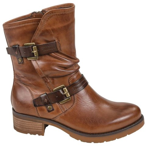 Outdoors Chunky Heel Martin Boots