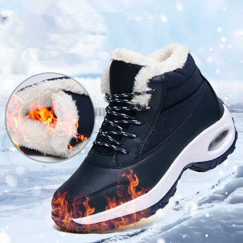 Women Casual Outdoor Waterproof Comfy Warm Boots