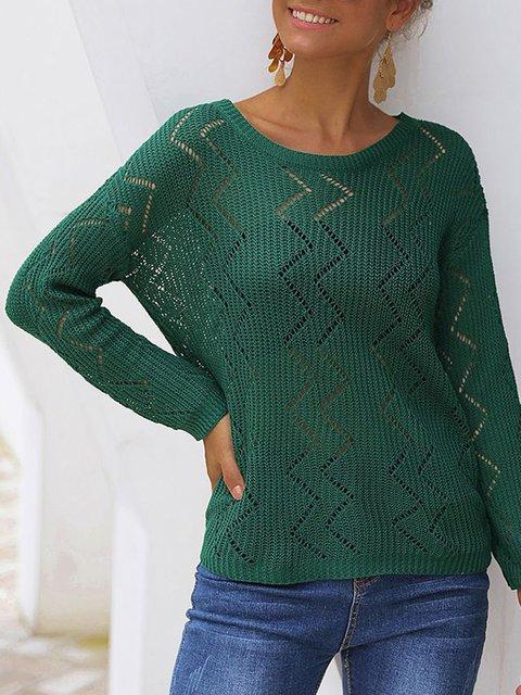 Womens Shift Casual Sweater