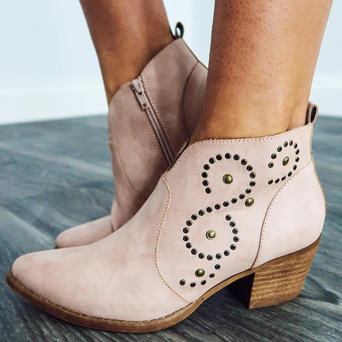 Women Fall Artificial Suede Boots