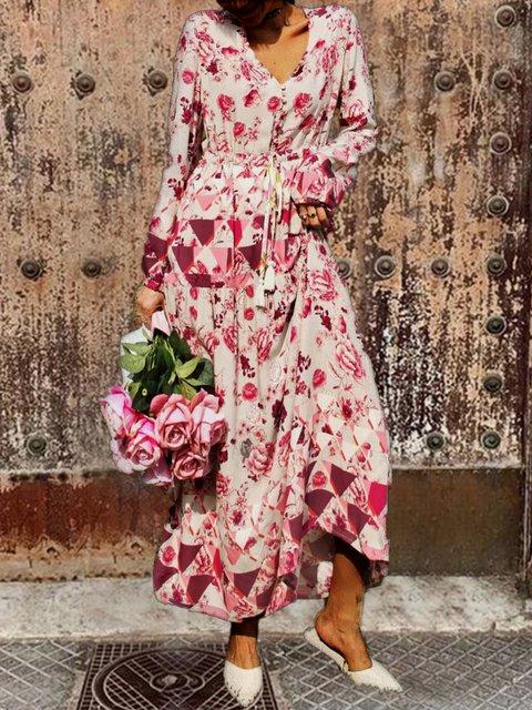 Women Dresses Cotton Floral Dresses