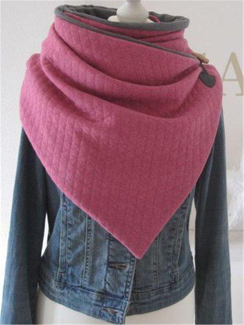 Casual winter warm scarf