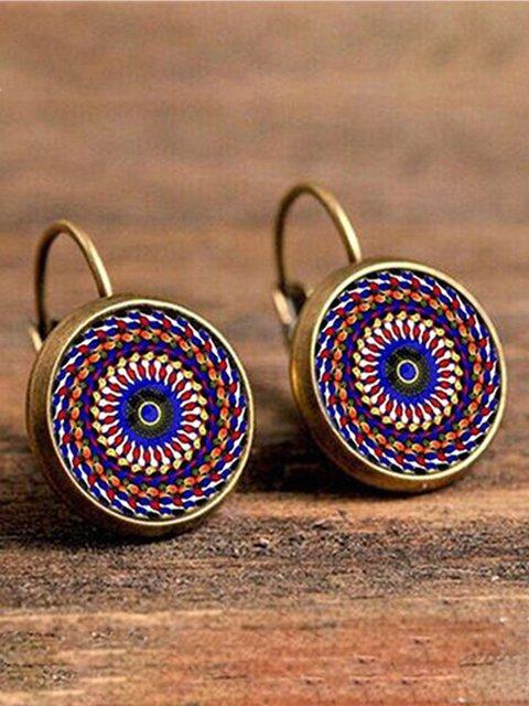 Alloy Vintage Boho Ethnic Holiday Daily Earrings