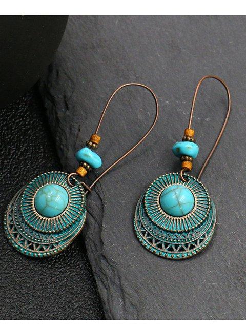 (6 Pcs Set)6 Pcs in One Boho Vintage Elegant Earrings