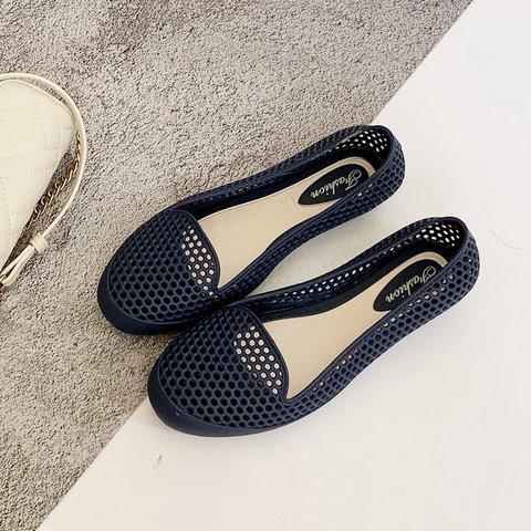 Summer Jelly Flat Heel Beach Sandals